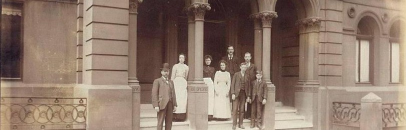 Staff outside Arlington Baths. Image courtesy of the Arlington Baths Club